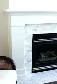 decoration fireplace tile ideas appealing mantels with best surround on white glass