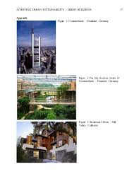 green buildings essay 17 achieving urban sustainability green