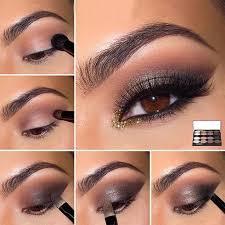 smokey eye makeup for brown eyes smokeyeyemakeup