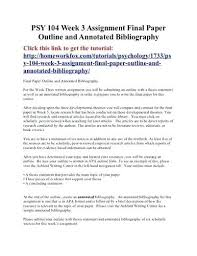annotated essay example making an annotated bibliography  annotated essay example preparing an annotated