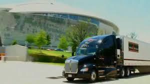 stevens transport truck driving fooe