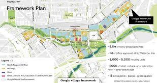 Urban Design Proposal Report Google Submits Plan For Downtown San Jose Transit Village