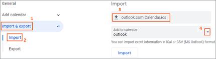 Tutorial How To Add Outlook Calendar To Google Calendar