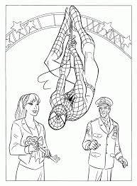 His main ability is to create a web, bind enemies with it and move around the city at high speed. Spiderman Coloring Pages Pdf Coloring Home