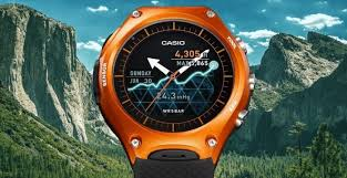 aimed at those involved in outdoor adventures the watch es with several fitness and outdoor activity apps including viewranger gps trakking app