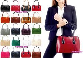 handbag bliss vera pelle italian leather smooth finish handbag shoulder bag new style