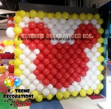 mickey mouse balloon wall balloon decorations miami