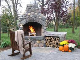 pre made outdoor fireplace how to build an with