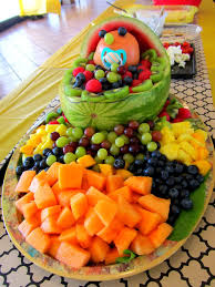 How To Decorate Fruit Tray Fruit Decorations For Baby Shower Best Interior 100 74