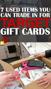 7 used items you can trade in for target gift cards the krazy coupon lady