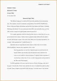 38 Free Mla Format Templates Essay Template Lab How To Write A Paper
