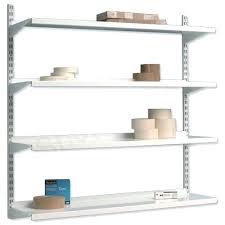 wall mounted shelving units top shelf unit system 4 shelves metal l31