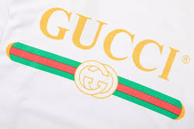 gucci logo. gucci men white logo cotton t-shirt women gucci t-shirt 4