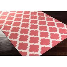 hand woven moroccan trellis geometric flatweave wool rug c area rug canada