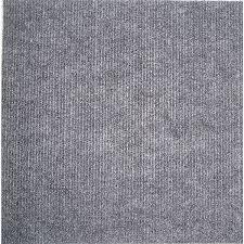 square carpet tiles. Self-stick Grey Carpet Tiles (120 Square Feet)