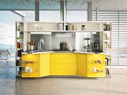 Stainless Top Kitchen Table Yellow Wooden Kitchen Decorating Ideas Joshta Home Designs Stained