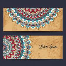 239 best hindu wedding invitation inspiration images on pinterest Wedding Banner Patterns mandala banners design free vector christian wedding banner patterns