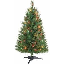 Holiday Time Pre-Lit 3' Winston Pine Artificial Christmas Tree, Multi
