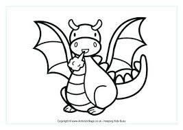 Coloring Pictures Of Dragons Dragon Coloring Pages Free Download