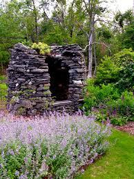 Garden:Stone Garden House Sculpture Idea Natural Stone Garden Decor Ideas