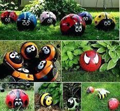 Golf Ball Decorations Golf Garden Ornaments Found It At Stretching Yoga Frog Garden 52