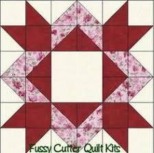 Missouri Quilt Block Patterns | For the hunter star block you will ... & Scrappy Fabric Diamond Star Easy Pre-Cut Patchwork Quilt Blocks Top Kit: Adamdwight.com