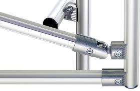 tubular aluminum framing