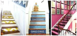 staircase decorating