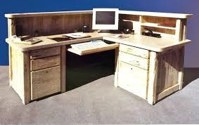 custom corner desk custom computer desk really like the idea of a true  computer desk with