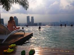 infinity pool mbs. Travel Diary Marina Bay Sands, Singapore Infinity Pool Mbs N