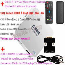 IPTV UNBLOCK UBOX6 Pro2 I950 & UBOX5 Pro & C800Plus Smart Android TV Box  Japan Korea Malaysia Sport Erwachsene Freies TV Live  Kanal|Digitalempfänger
