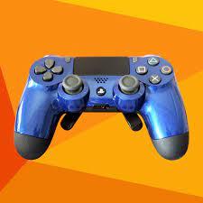 Controle Ps4 Competitivo Alta Performance Light Blue