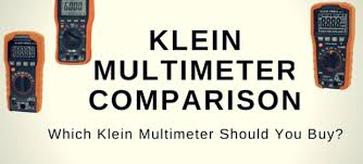 Multimeter Comparison Chart Klein Multimeter Comparison Which To Buy Housetechlab