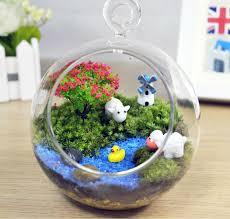 Small Fish Bowl Decorations Aquarium Ornament fish tank decorations Windmill Moss Micro 7