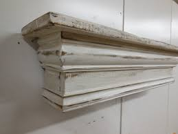 best white fireplace mantel shelf french country mantel shelf primitive mantle by