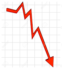 Chart Clipart Downward Chart Downward Transparent Free For