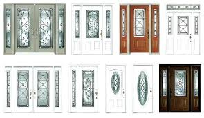 leaded glass front door inserts great green sliding dog on stained exterior