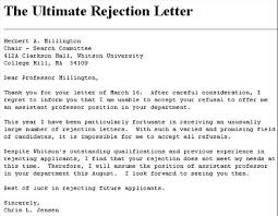Feeling Discouraged By Rejection Letters