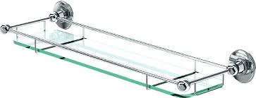 glass shelf bathroom chrome bathroom shelf awesome decoration bathrooms glass shelf with rail graphite chrome glass glass shelf bathroom