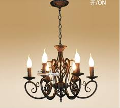 european fashion vintage chandelier ceiling lamp 6 candle lights intended for contemporary house vintage chandelier lighting ideas