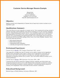 Customer Service Manager Resume 20 Sample Resume For Food Service