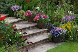 Steep Hill Garden Design Sloping Gardens Design Ideas And Landscaping Tips Real Homes
