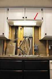 diy under cabinet lighting. Kitchen Light Upgrade Above The Sink Diy Under Cabinet Lighting S