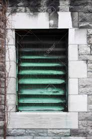 Fenster In Einem Kühlergrill Ein Schönes Element Der Architektur
