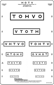 How To Use Sloan Eye Chart Studious Vision Test Letter Chart Stick Eye Chart With Sloan