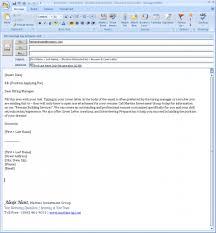 Email Job Resume Email Resume Sample Message Shalomhouseus 2