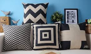 european pillow s geometric pillow burlap pillowcase pillow in