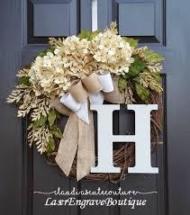 front door wreathBest 25 Wreaths for front door ideas on Pinterest  Letter door