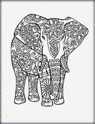 Elephant Mandala Coloring Pages Printable Zabelyesayancom