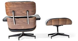 replica eames lounge chair and ottoman black. eames style lounge chair and ottoman black leather walnut wood - replica a